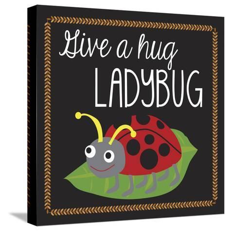 Ladybug-Erin Clark-Stretched Canvas Print
