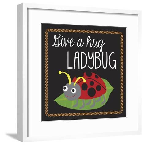 Ladybug-Erin Clark-Framed Art Print