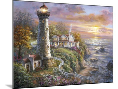 Lighthouse Haven-Nicky Boehme-Mounted Giclee Print