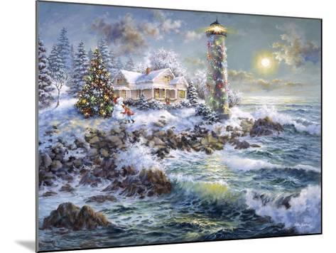 Lighthouse Merriment-Nicky Boehme-Mounted Giclee Print