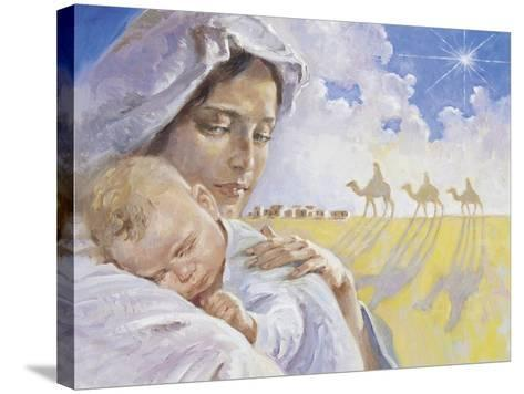Mary with Baby Jesus-Hal Frenck-Stretched Canvas Print