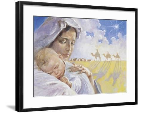 Mary with Baby Jesus-Hal Frenck-Framed Art Print