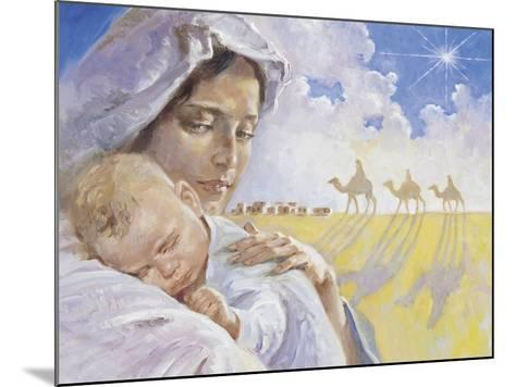 Mary with Baby Jesus-Hal Frenck-Mounted Giclee Print