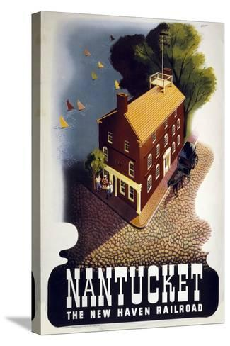 Nantucket--Stretched Canvas Print