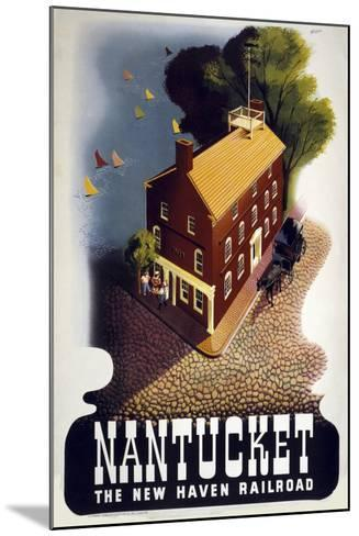 Nantucket--Mounted Giclee Print