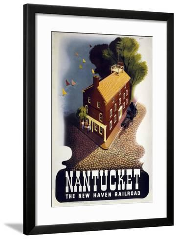Nantucket--Framed Art Print