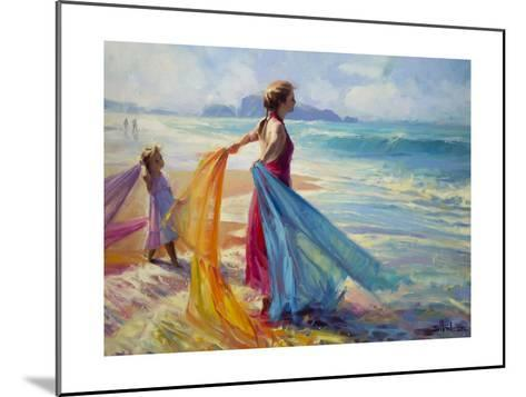 Into the Surf-Steve Henderson-Mounted Giclee Print