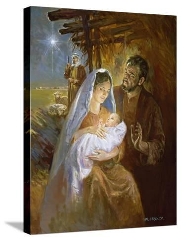 Nativity-Hal Frenck-Stretched Canvas Print