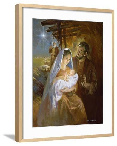 Nativity-Hal Frenck-Framed Art Print