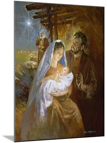 Nativity-Hal Frenck-Mounted Giclee Print