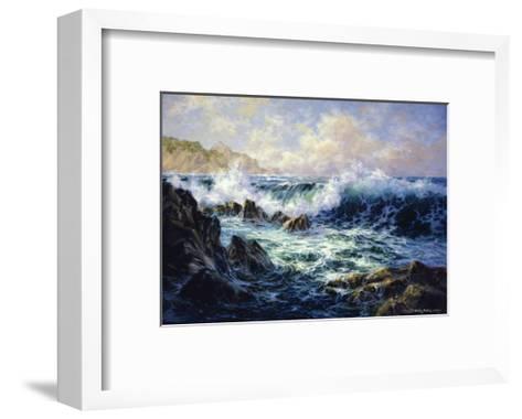 Morning Surf-Nicky Boehme-Framed Art Print