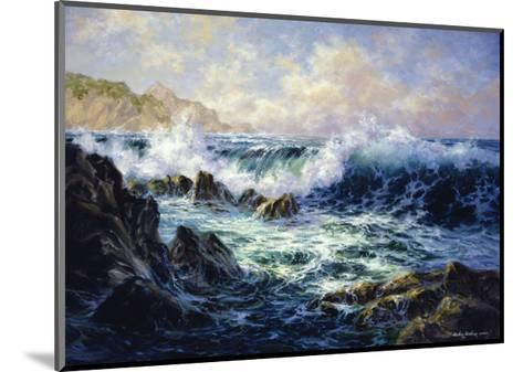 Morning Surf-Nicky Boehme-Mounted Giclee Print