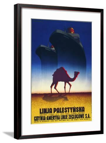 Linja Palestynska--Framed Art Print