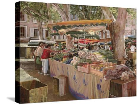 Mercato Provenzale-Guido Borelli-Stretched Canvas Print