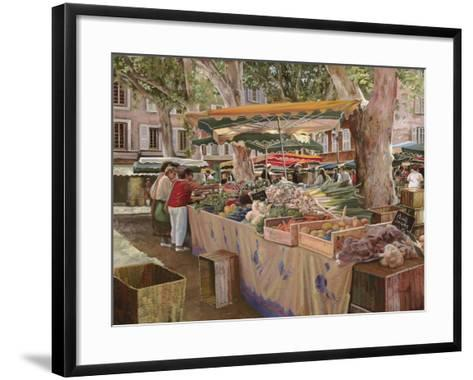 Mercato Provenzale-Guido Borelli-Framed Art Print