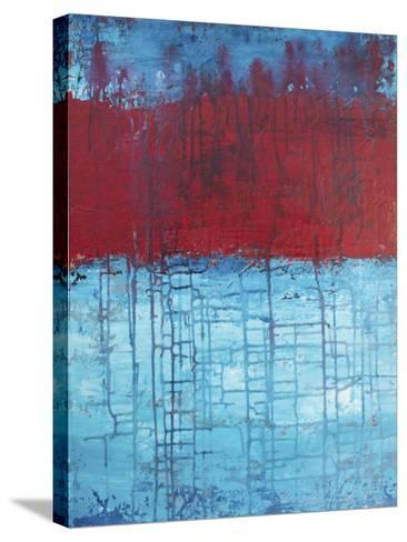 Lithoshpere LXXVI-Hilary Winfield-Stretched Canvas Print
