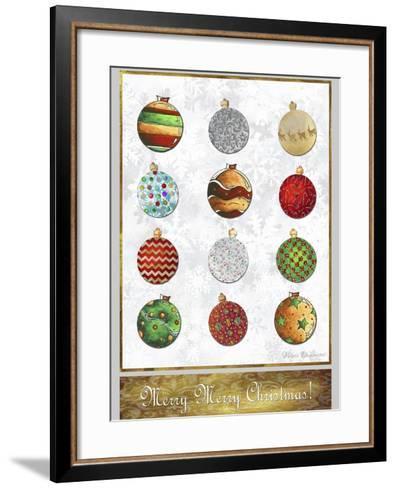 Merry Merry Christmas 2-Megan Aroon Duncanson-Framed Art Print