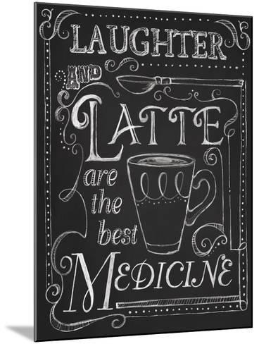 Laughter and Latte-Fiona Stokes-Gilbert-Mounted Giclee Print
