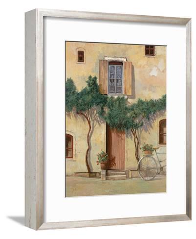 Mezza Bicicletta Sul Muro-Guido Borelli-Framed Art Print