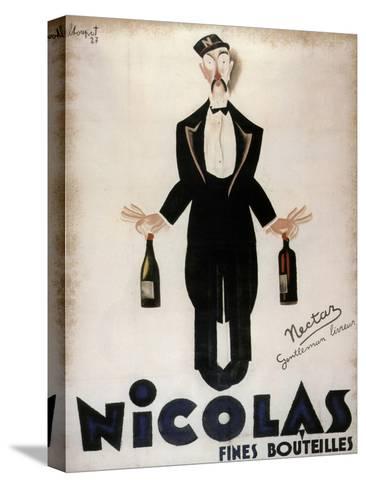 Nicolas Fines Bouteilles--Stretched Canvas Print
