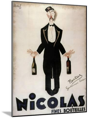 Nicolas Fines Bouteilles--Mounted Giclee Print
