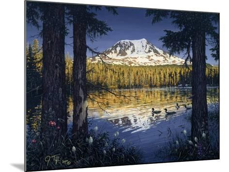 Mt Adams-Jeff Tift-Mounted Giclee Print