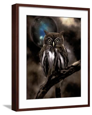 Night Owl--Framed Art Print