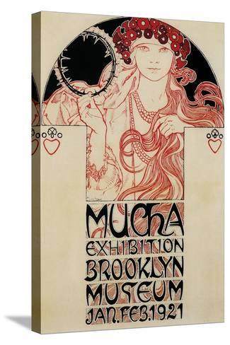 Mucha Brooklyn Exhibition--Stretched Canvas Print