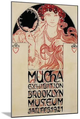 Mucha Brooklyn Exhibition--Mounted Giclee Print