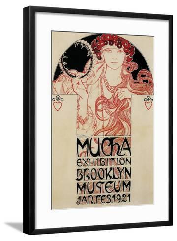 Mucha Brooklyn Exhibition--Framed Art Print
