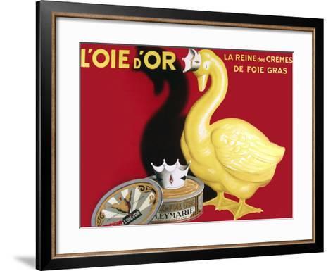 Loie D or La Reine Des Cremes--Framed Art Print