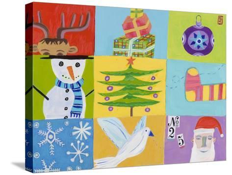 Nine Christmas Squares-Nathaniel Mather-Stretched Canvas Print