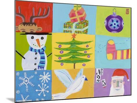 Nine Christmas Squares-Nathaniel Mather-Mounted Giclee Print