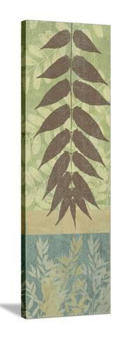 Leaves II-Erin Clark-Stretched Canvas Print