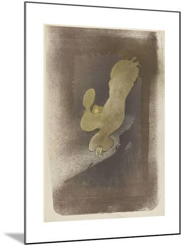 Miss Loïe Fuller--Mounted Giclee Print