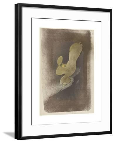 Miss Loïe Fuller--Framed Art Print