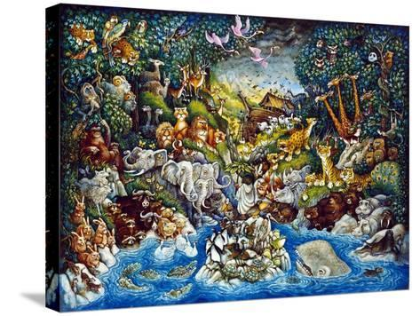 Noah's Quandary-Bill Bell-Stretched Canvas Print