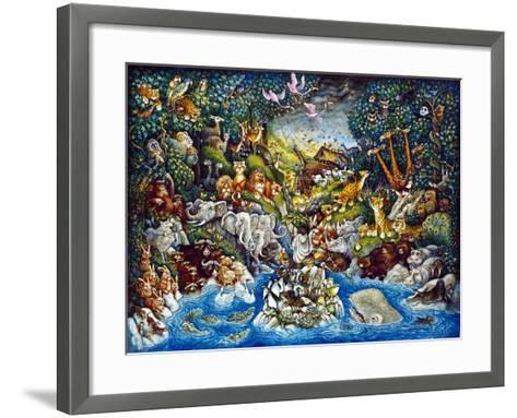 Noah's Quandary-Bill Bell-Framed Art Print