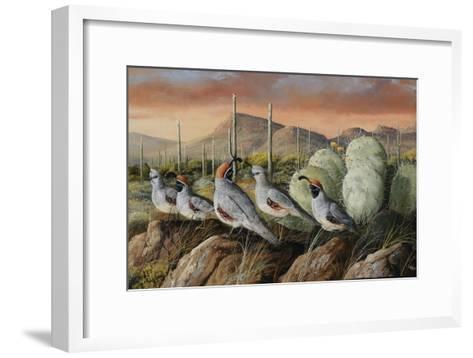 Panther Peak Covey-Trevor V. Swanson-Framed Art Print