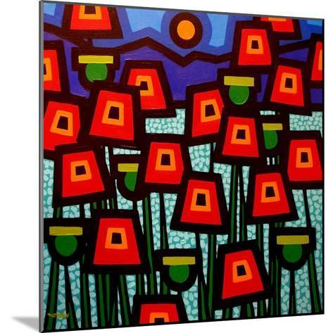 Poppy Field-John Nolan-Mounted Giclee Print