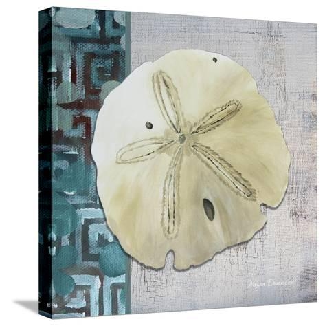 Sand Dollar 1-Megan Aroon Duncanson-Stretched Canvas Print