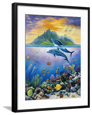 Paradise-John Zaccheo-Framed Art Print