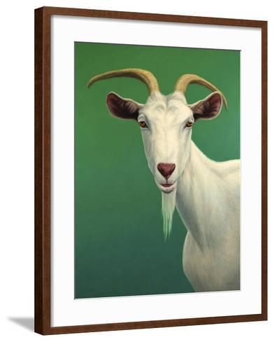Portrait of a Goat-James W. Johnson-Framed Art Print