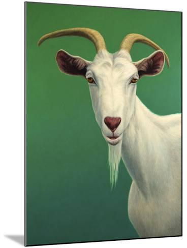 Portrait of a Goat-James W. Johnson-Mounted Giclee Print