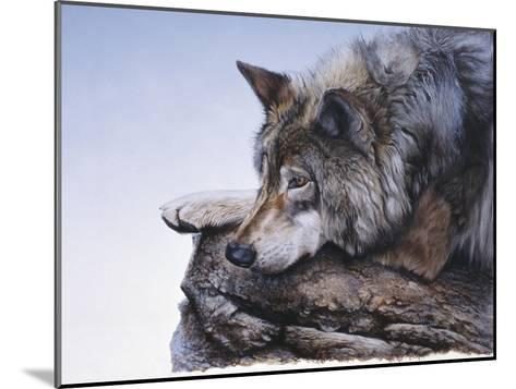 On the Edge-Rusty Frentner-Mounted Giclee Print
