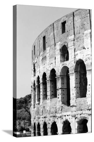Rome Triptych A-Jeff Pica-Stretched Canvas Print
