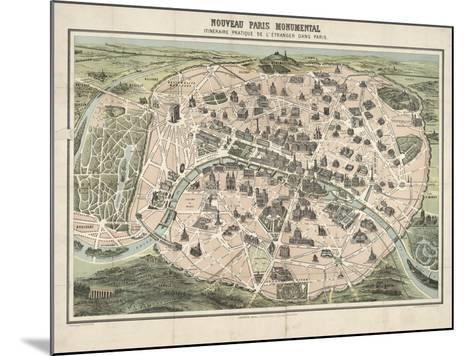 Paris II--Mounted Giclee Print