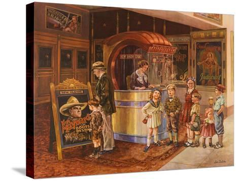 Saturday Matinee-Lee Dubin-Stretched Canvas Print