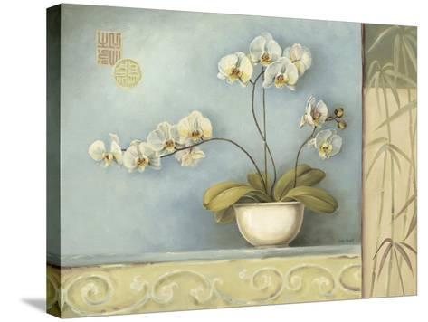 Orchid Spa 1-Lisa Audit-Stretched Canvas Print