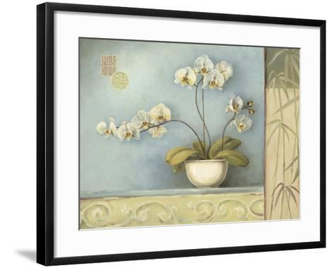 Orchid Spa 1-Lisa Audit-Framed Art Print